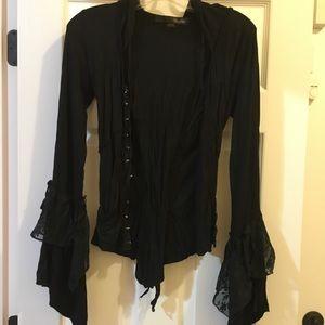 Jackets & Blazers - Blacklist Black Jacket/Blouse